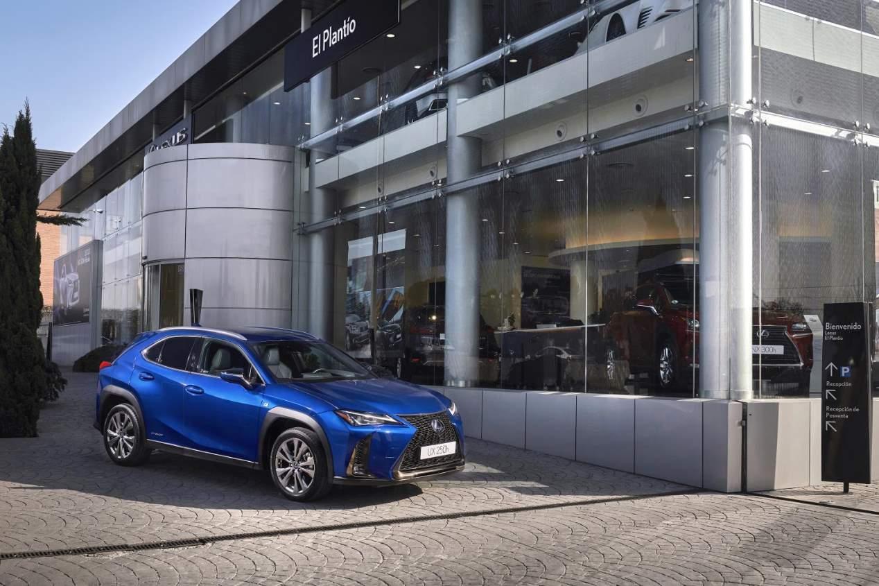El Lexus UX 250h 2019, ya a la venta en España: sus mejores fotos