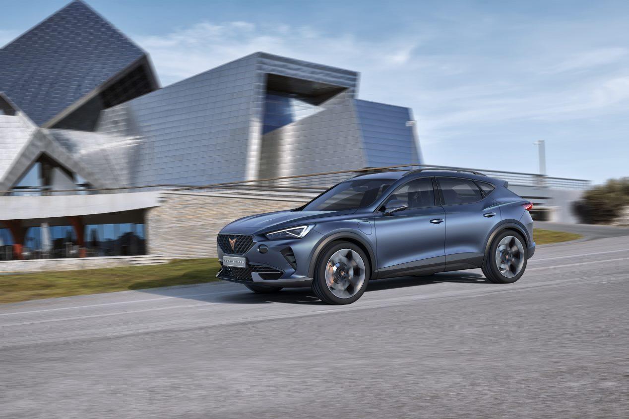 Cupra Formentor: el SUV coupé se presenta en el Salón de Ginebra