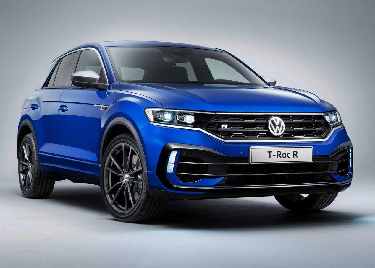 Volkswagen T-Roc R, casi en la línea de producción