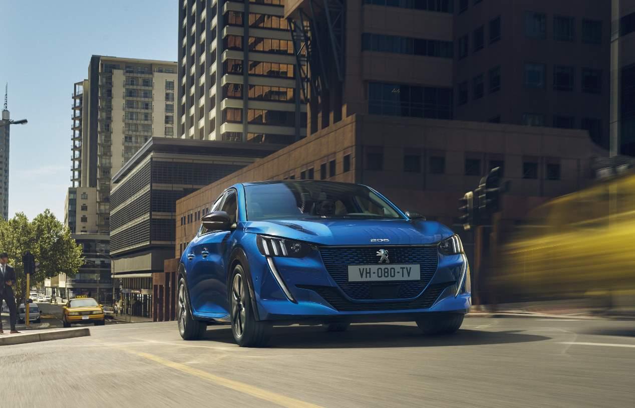 Peugeot e-208: así es el nuevo utilitario eléctrico