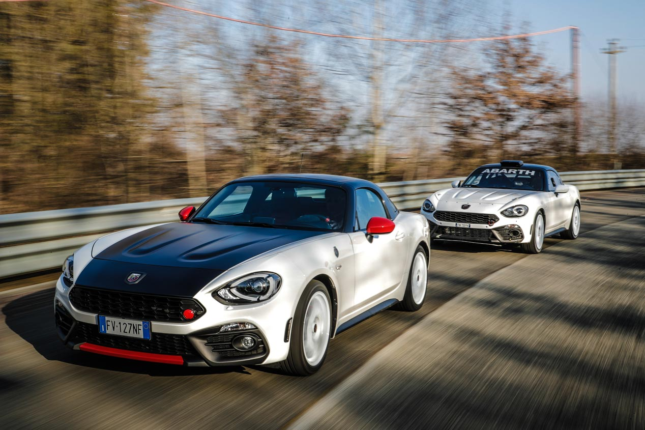 Abarth 595 Esseesse y 124 Rally Tribute, dos homenajes