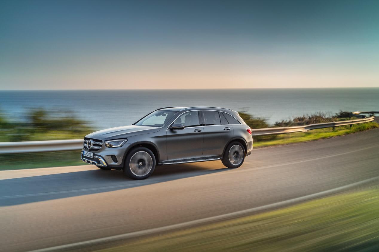 Mercedes GLC: renovación por dentro y por fuera