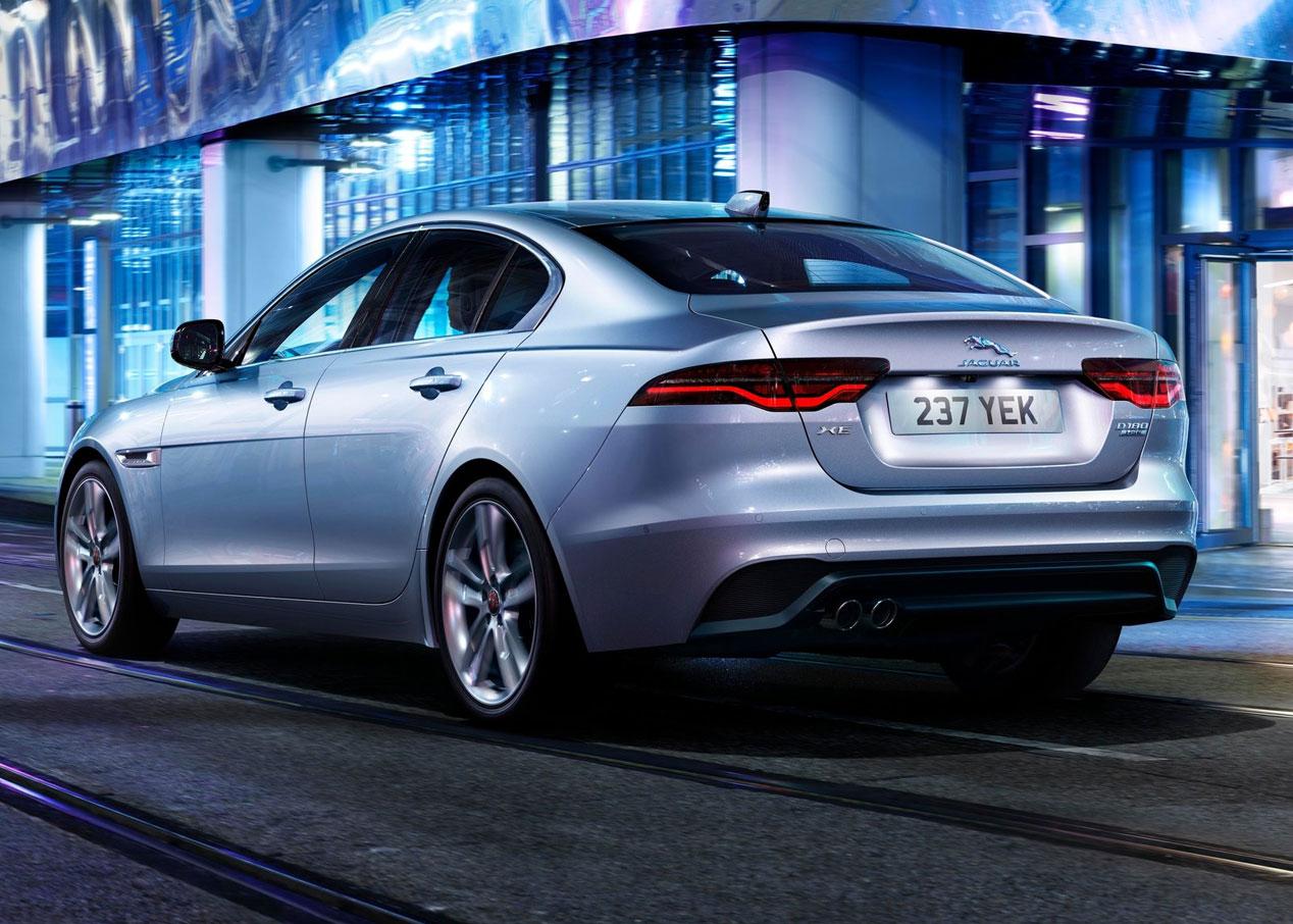 Jaguar XE, la berlina se renueva en Ginebra