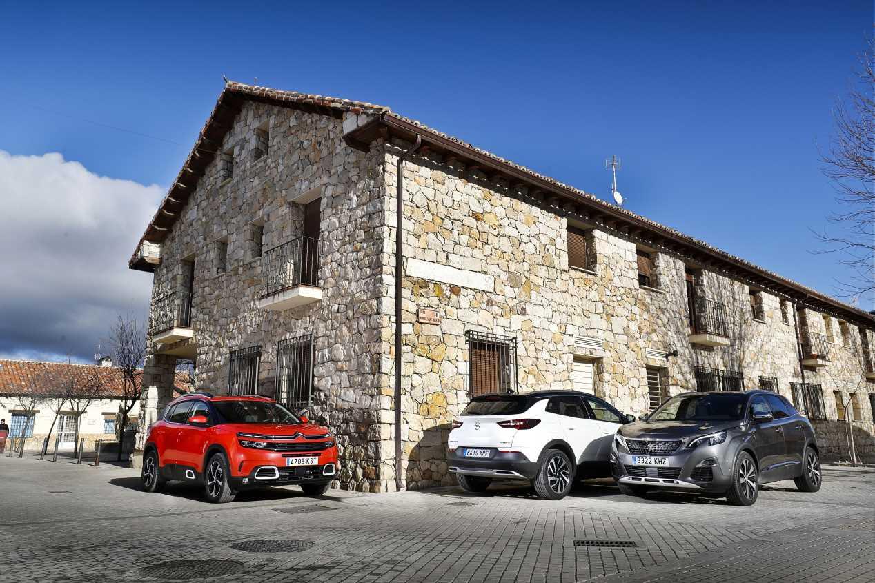Comparativa: Citroën C5 Aircross, Opel Grandland X y Peugeot 3008
