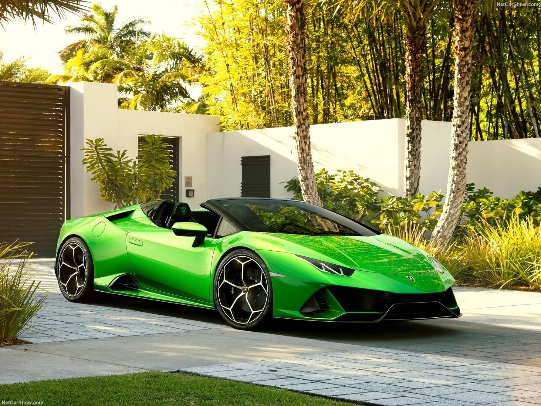 Descapotable a más de 300 km/h, así es el Lamborghini Huracan Evo Spyder