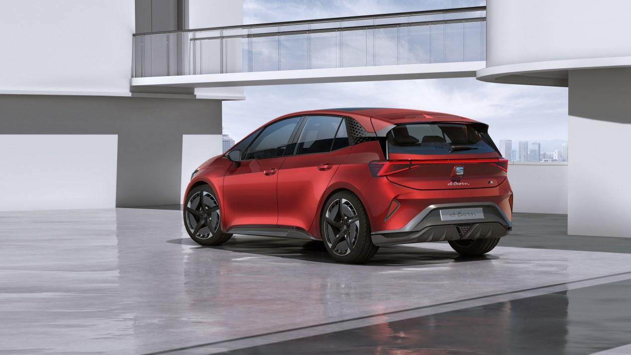 Seat El-Born: el nuevo compacto eléctrico de Seat, en imágenes