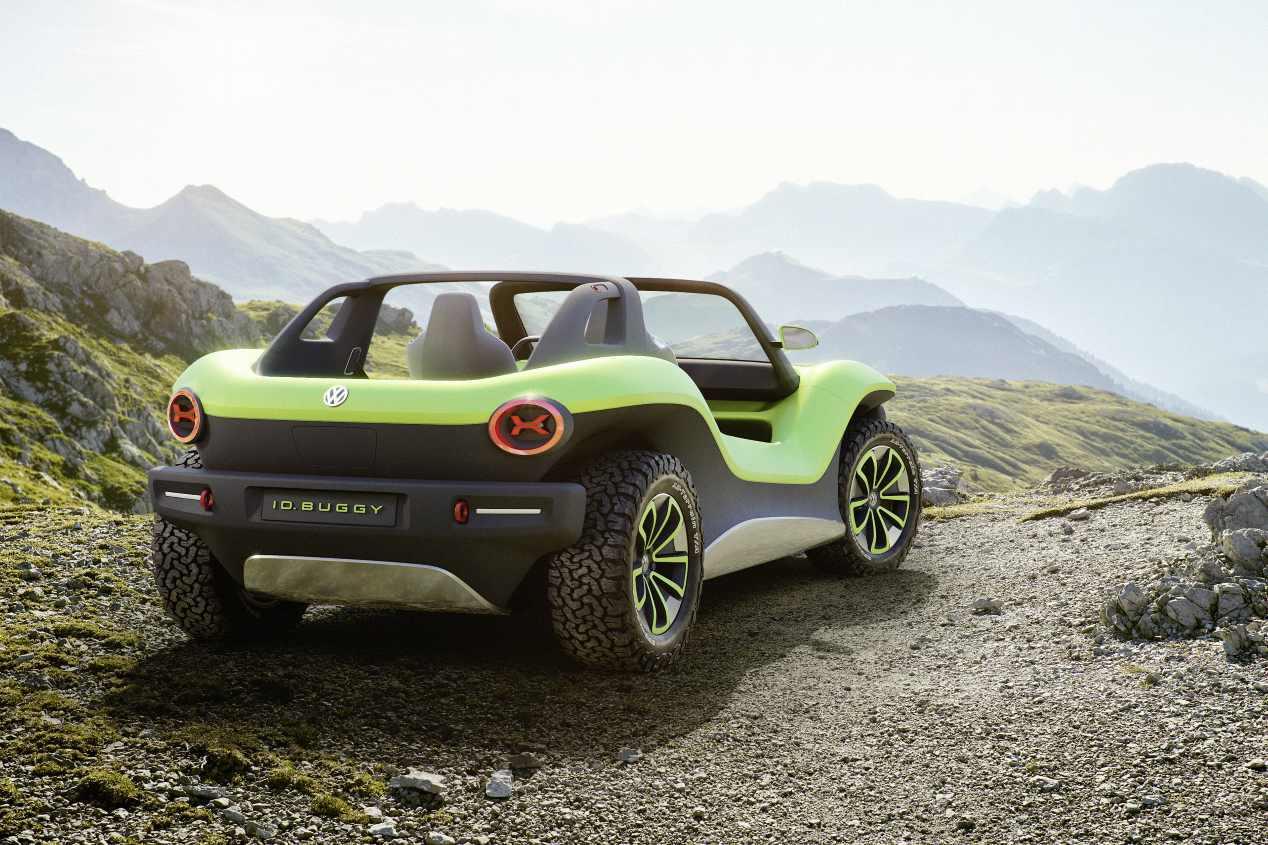 Volkswagen ID. BUGGY: el nuevo prototipo eléctrico, en imágenes