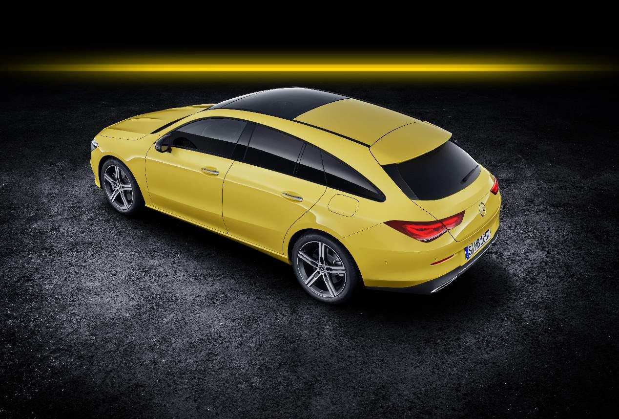 El Mercedes CLA Shooting Brake 2019, en fotos