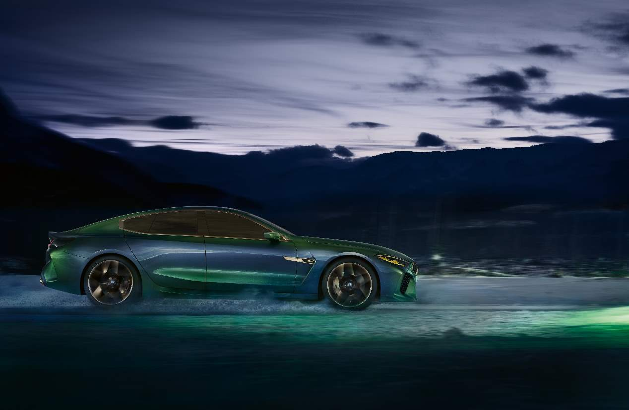 El BMW M8 Gran Coupé 2019, en fotos