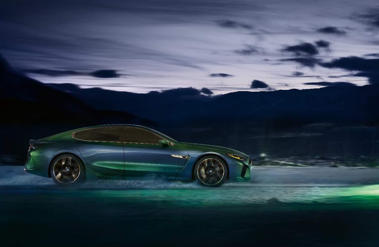 El BMW M8 Gran Coupé 2019, en fotos