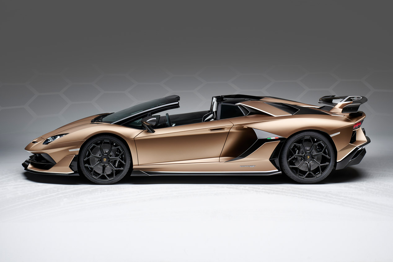 Lamborghini Aventador SVJ Roadster: 770 CV al aire libre