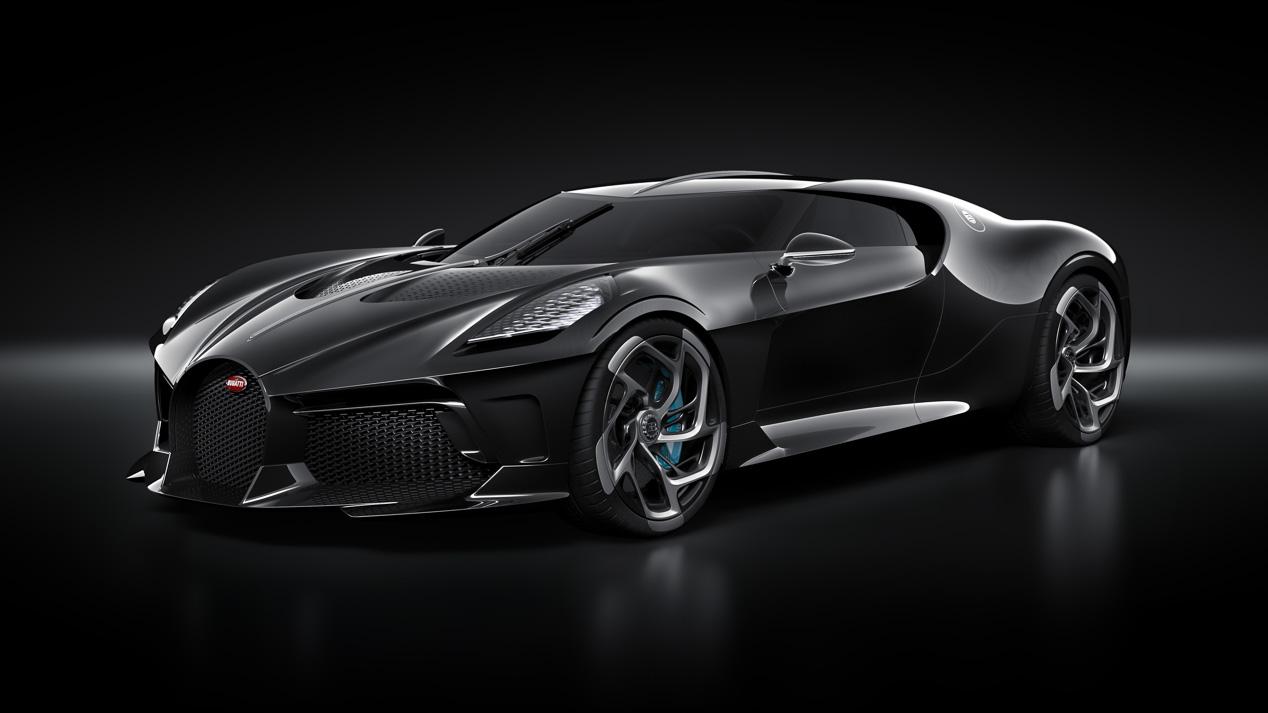 Bugatti 'La Voiture Noire', único e inalcanzable