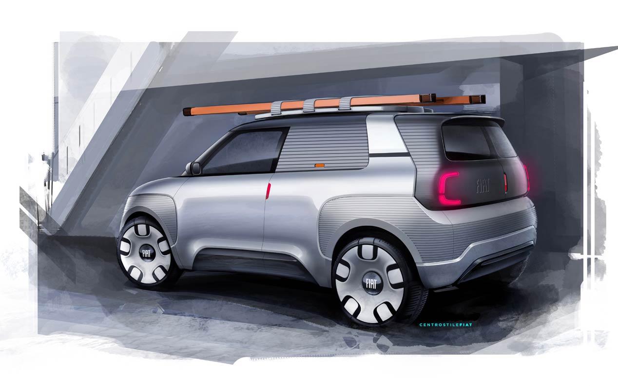 Fiat Concept Centoventi, un pequeño eléctrico modulable