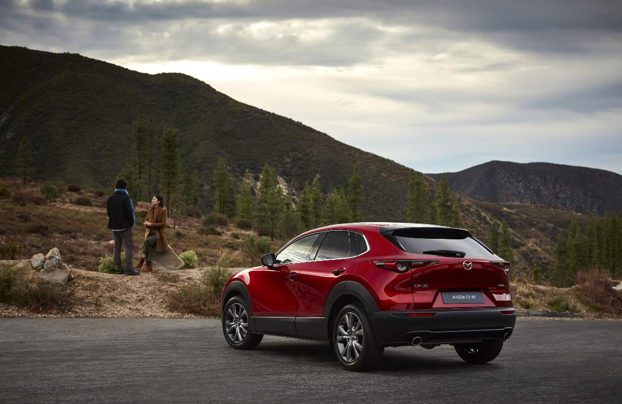 Mazda CX-30 2019: nuevas fotos del SUV basado en el nuevo Mazda3