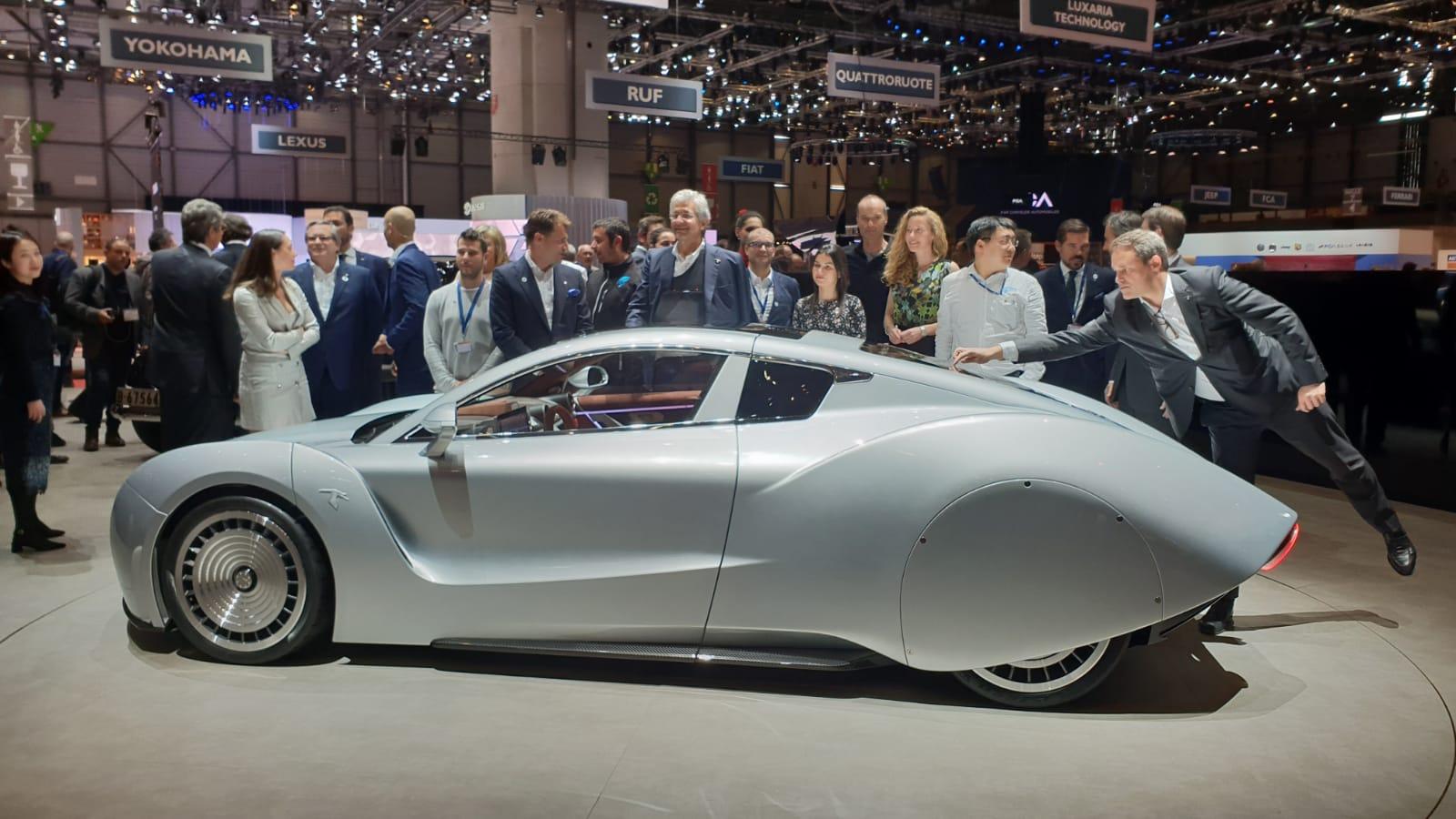 Hispano Suiza Carmen: así es el nuevo superdeportivo español