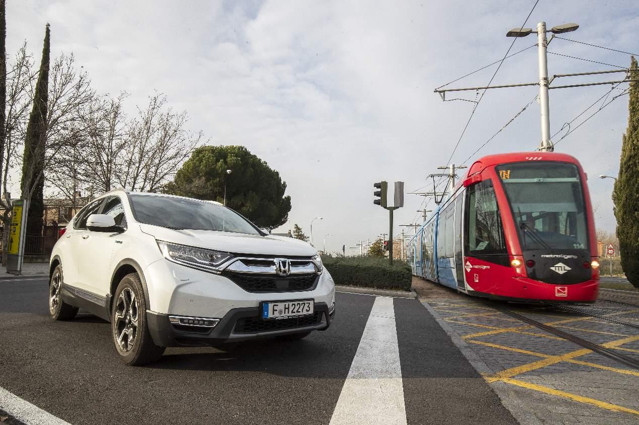 A prueba el Honda CR-V Hybrid 184 CV 4x2