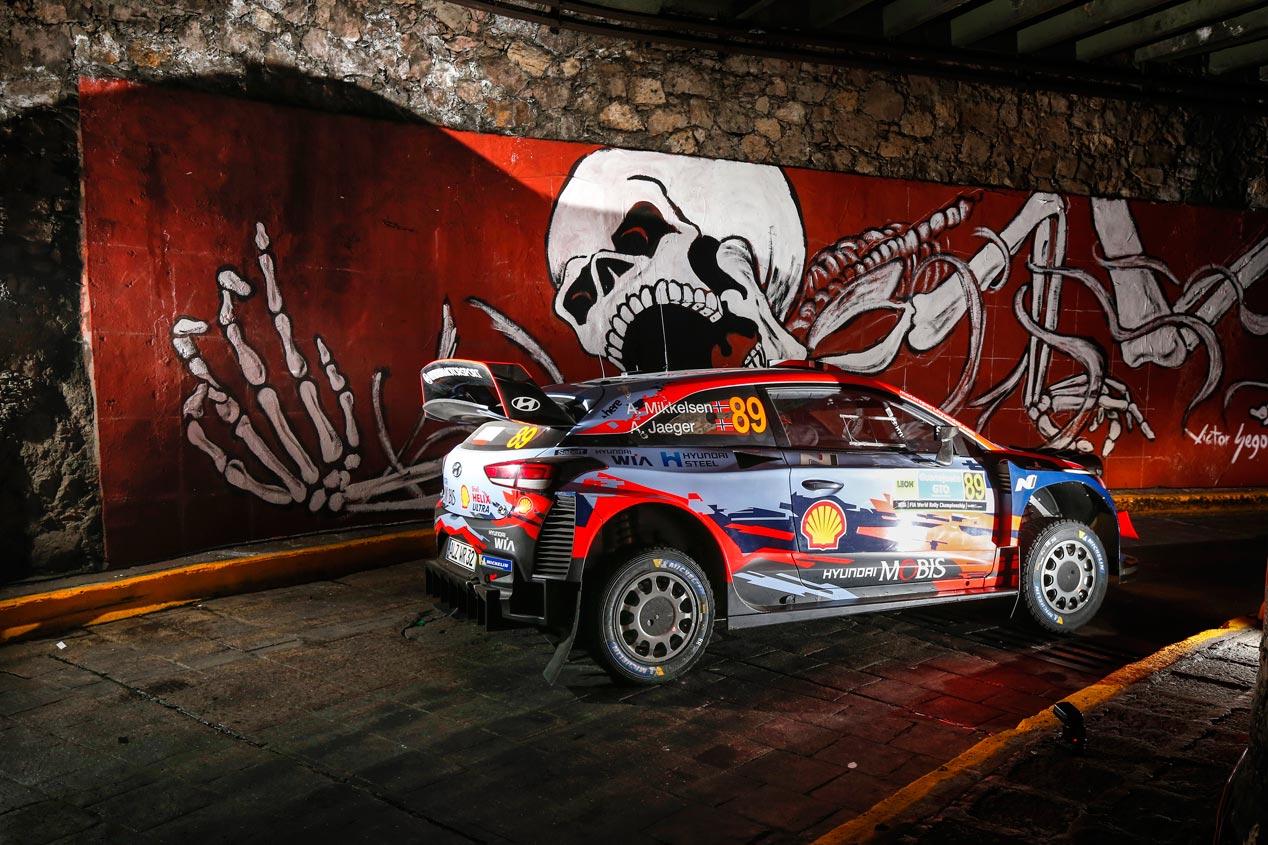Las mejores imágenes de Hyundai en el Rally de México 2019