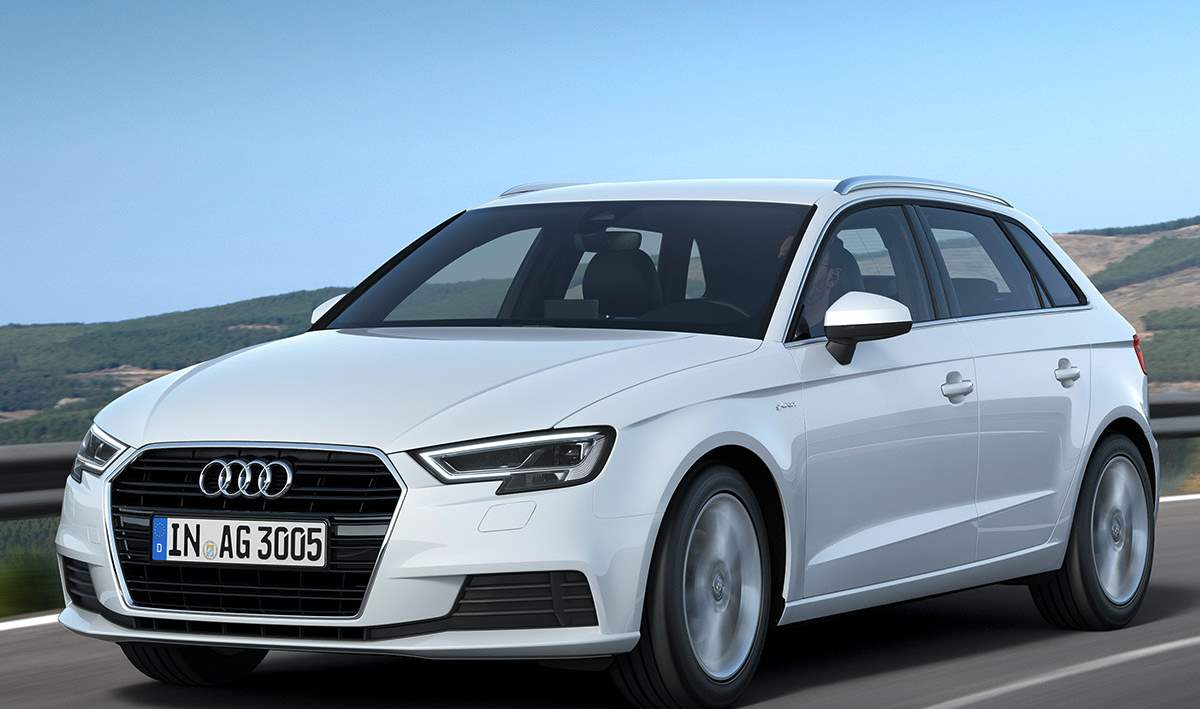 Así es en fotos el nuevo Audi A3 g-tron 2019, el compacto de gas