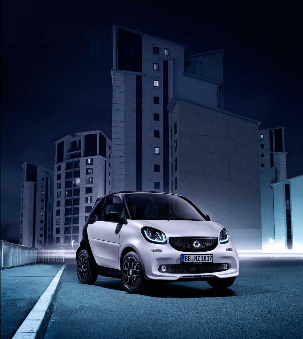 Smart UrbanShadow Edition, el último de gasolina