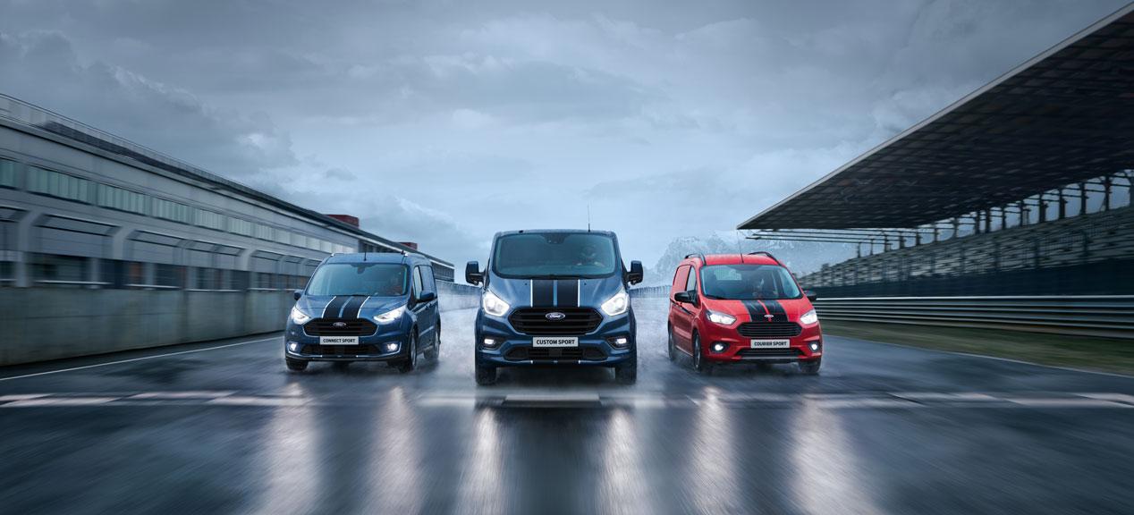 Ford Transit Sport, las furgonetas para los que quieren diversión en su trabajo