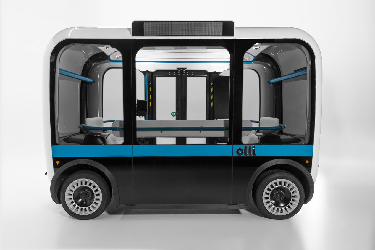 Así es Olli, el coche autónomo con tecnología de Goodyear