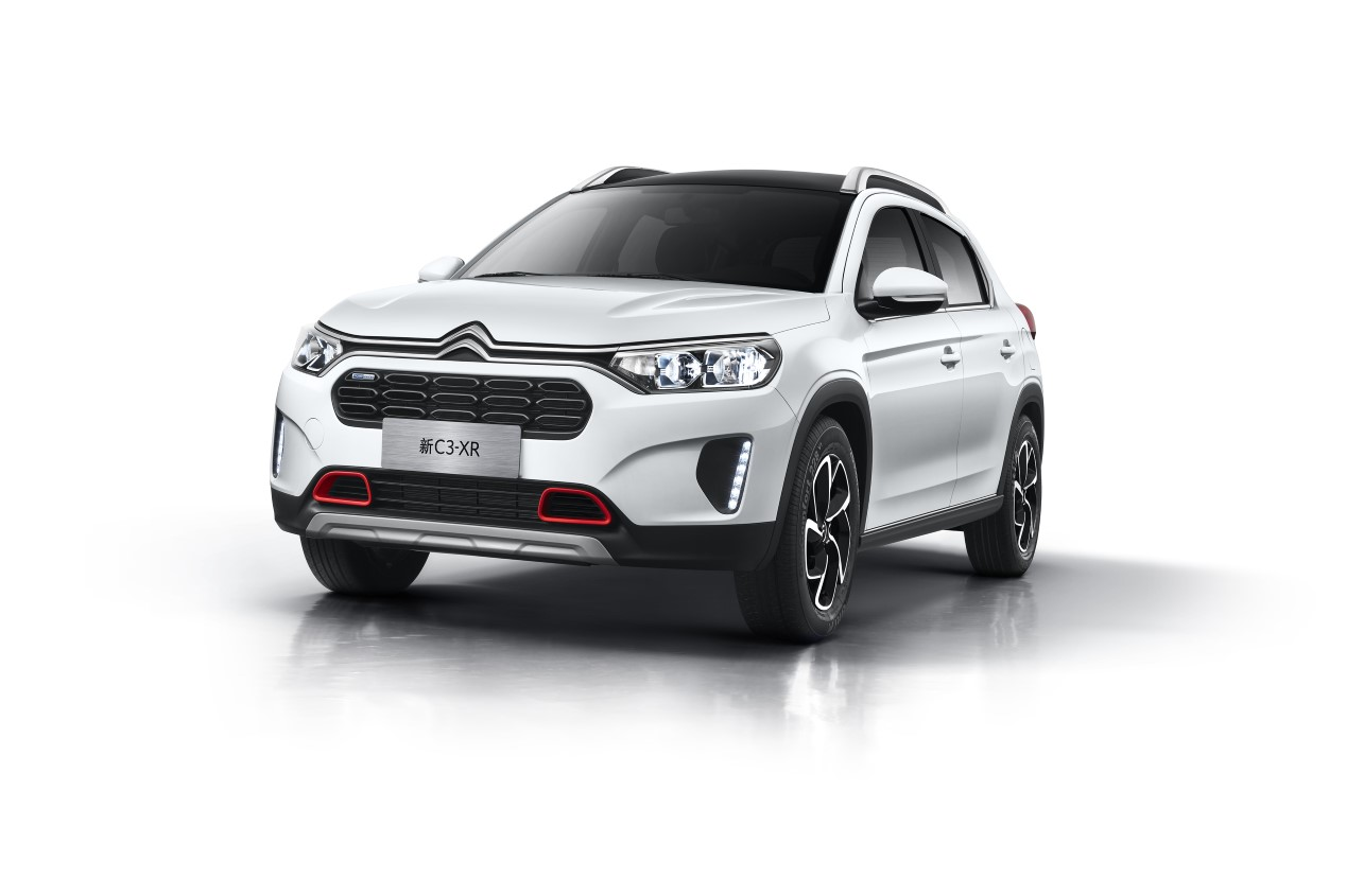 Citroën C3-XR: así es el nuevo SUV para China