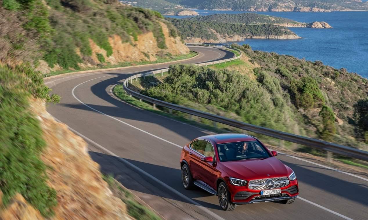 Mercedes GLC Coupé 2019: las mejores fotos del nuevo SUV
