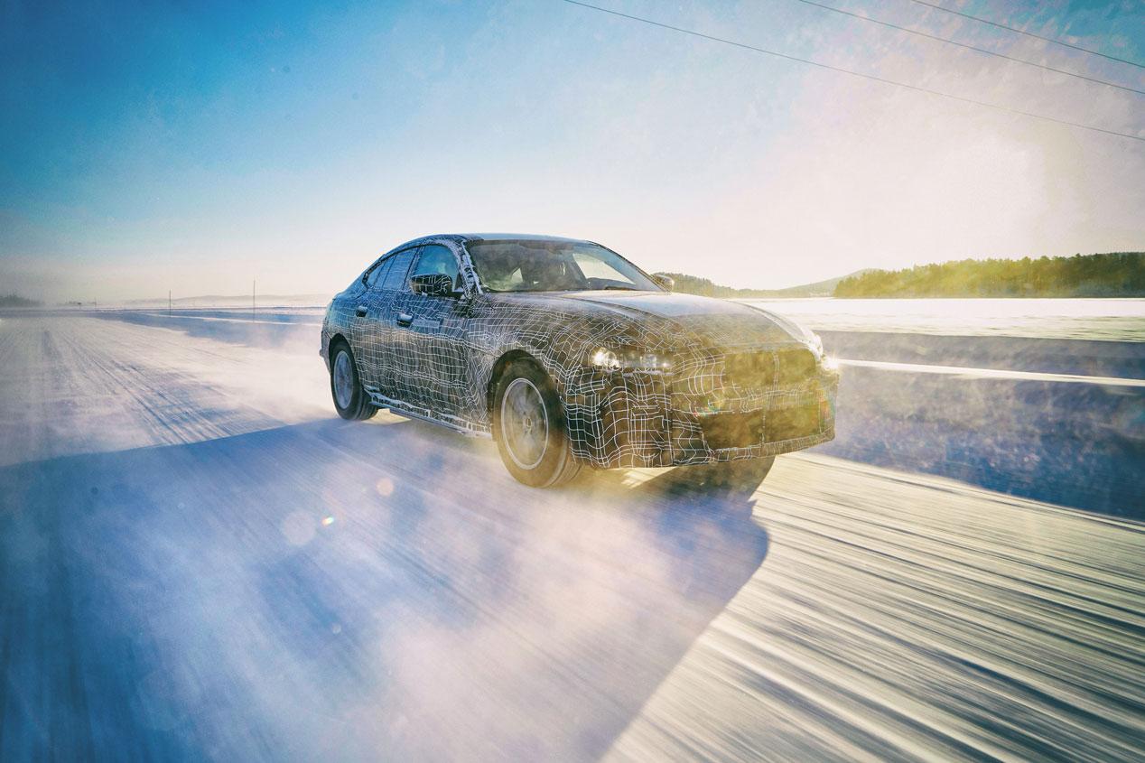 BMW, de pruebas en el Círculo Polar Ártico con sus eléctricos