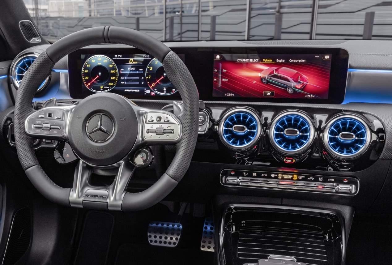 El Mercedes-AMG A 35 4Matic Sedán, en fotos