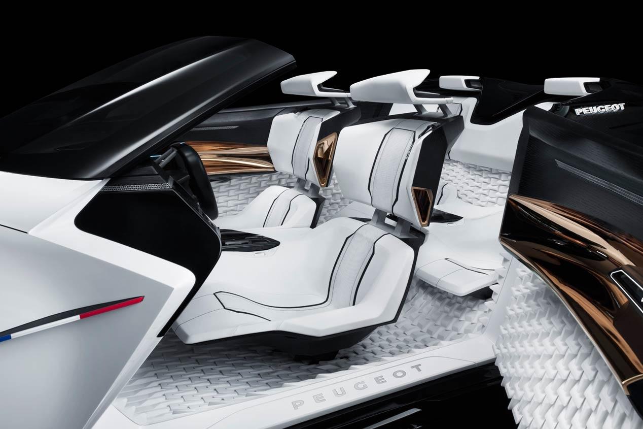Peugeot Fractal y Peugeot 208, ¿pasado y presente?