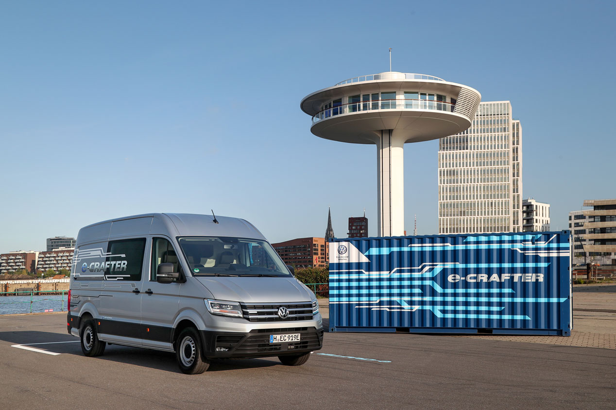 Volkswagen e-Crafter, así es la furgoneta eléctrica