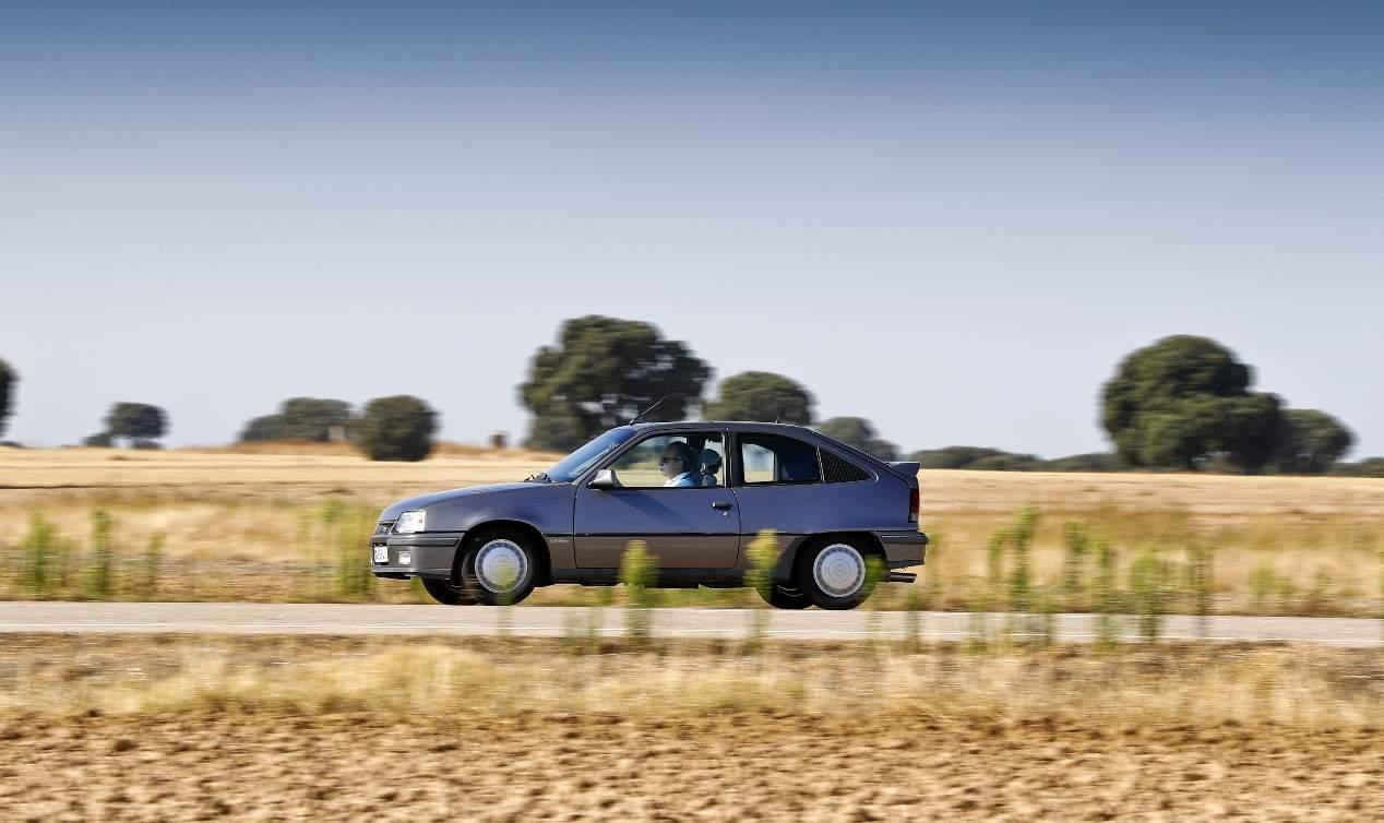El Opel Kadett GSI (1984¬-1991), en fotos