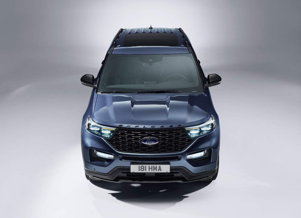 El Ford Explorer Híbrido Enchufable, en fotos