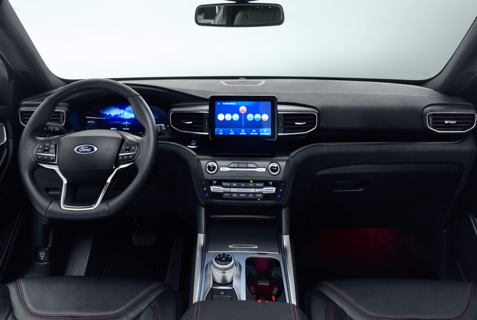 El Ford Explorer Híbrido Enchufable, en fotos