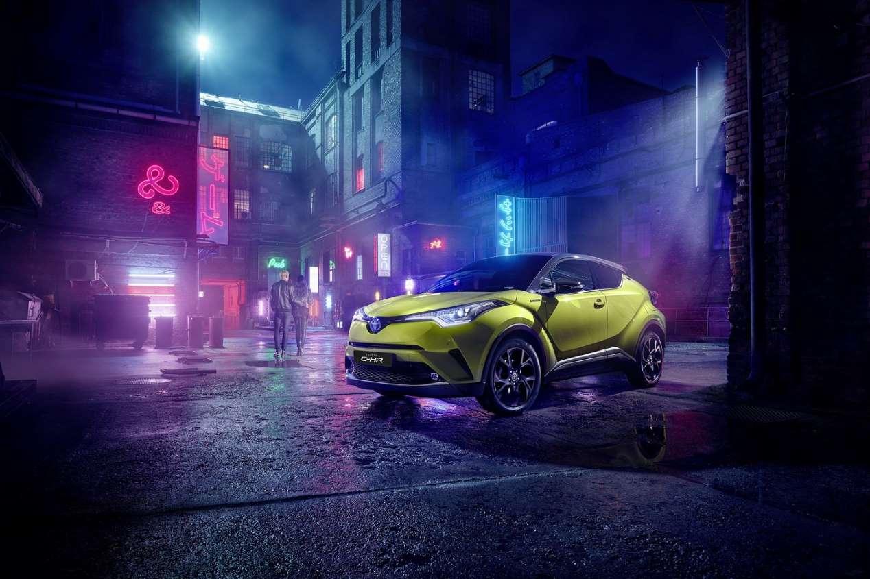 Toyota C-HR Neon Lime: así la nueva versión del SUV