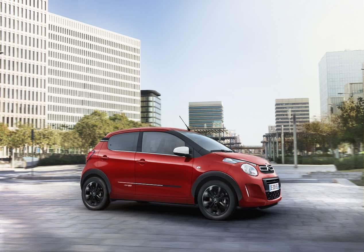 Ya a la venta el nuevo Citroën C1 Urban Ride