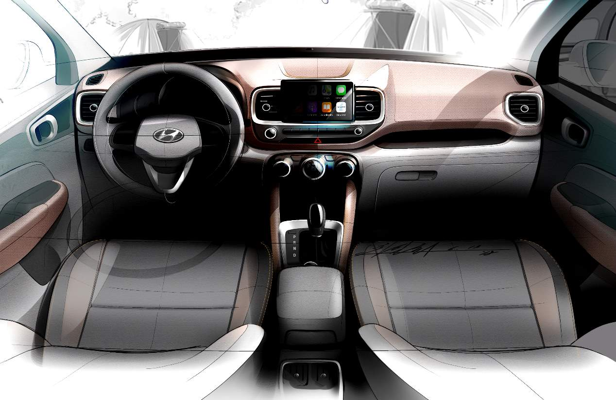 Hyundai Venue 2020: el SUV hermano pequeño, en imágenes