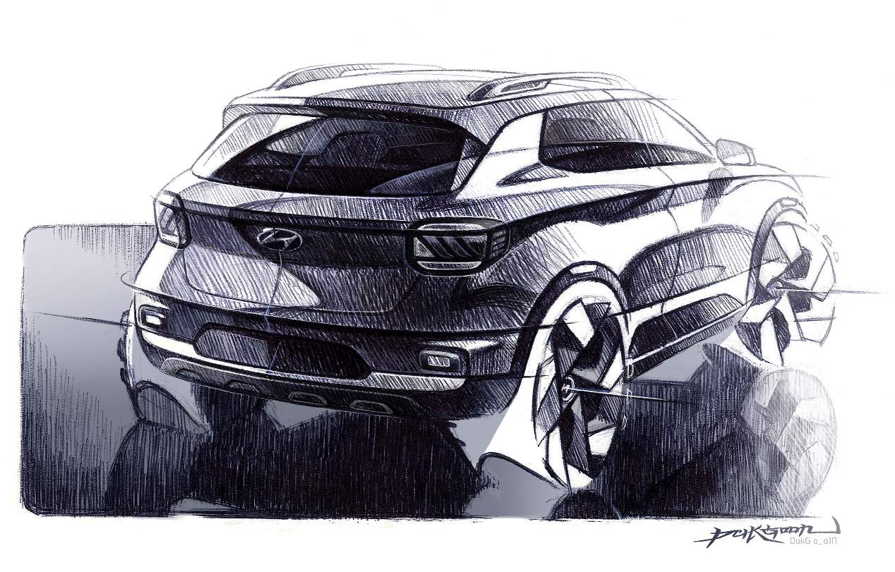Hyundai Venue 2020: el SUV hermano pequeño del Kona, en imágenes