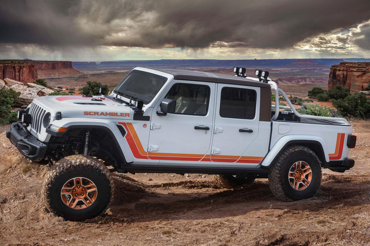 Todos los Jeep que serán presentados en el Moab Easter Jeep Safari