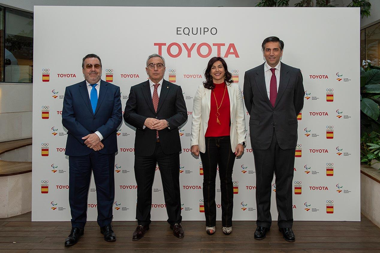 Toyota acompañará a cuatro deportistas en su sueño olímpico Tokio 2020