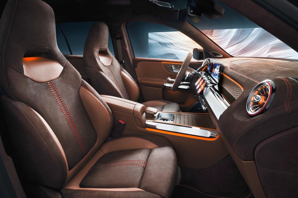 El Mercedes GLB Concept 2019, en fotos