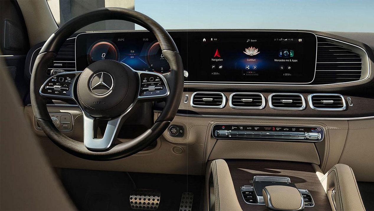 Mercedes GLS, primeras fotos del gran SUV germano