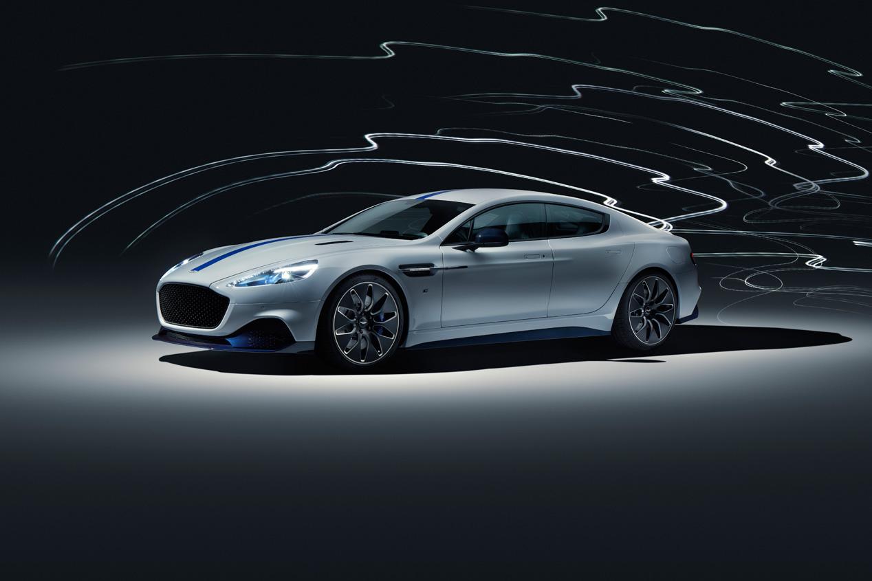 Aston Martin Rapide E, el primer coche eléctrico de la marca británica