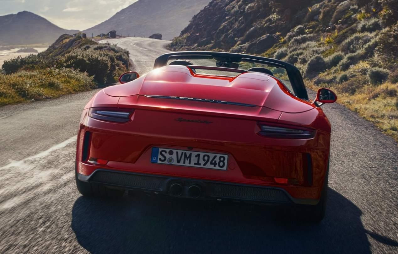 Porsche 911 Speedster 2019, en fotos