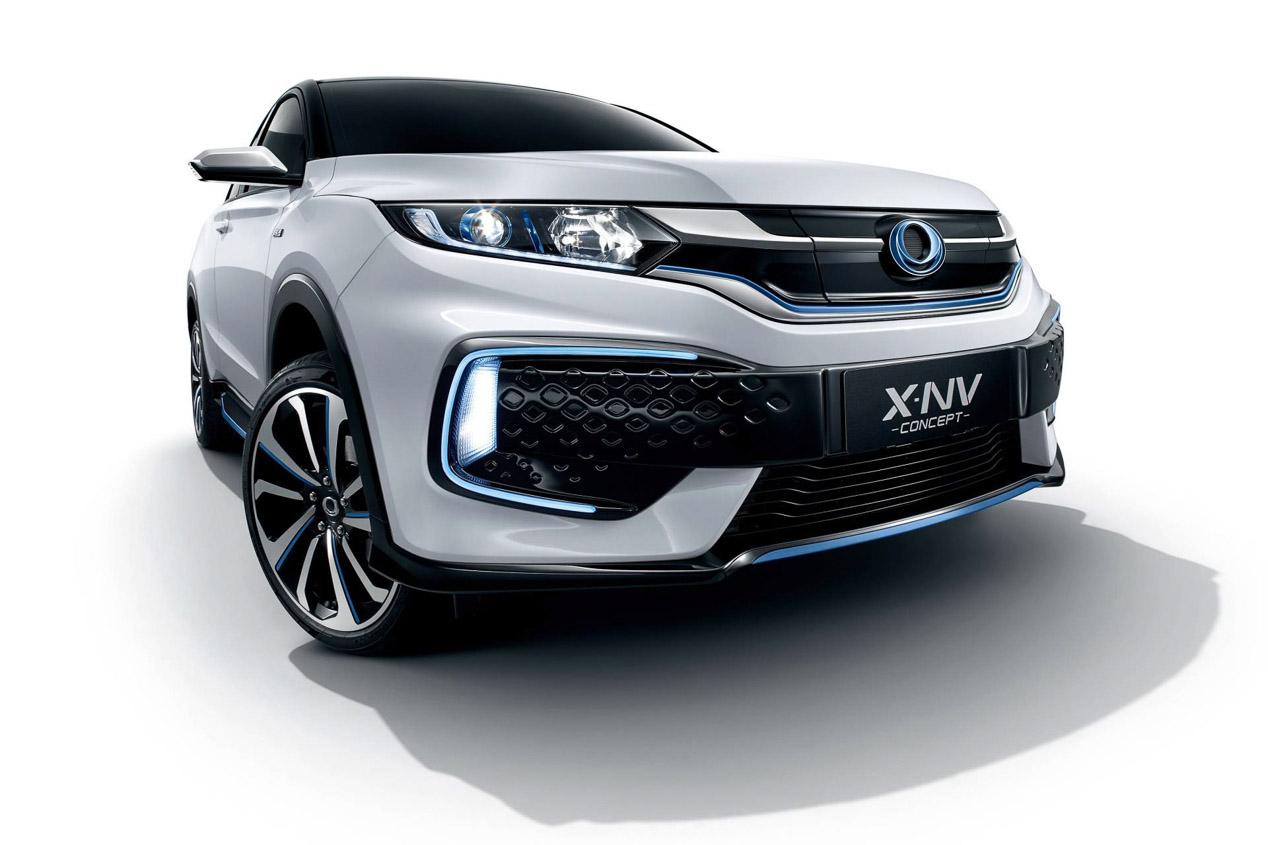 Honda X-NV Concept, otro SUV eléctrico para China