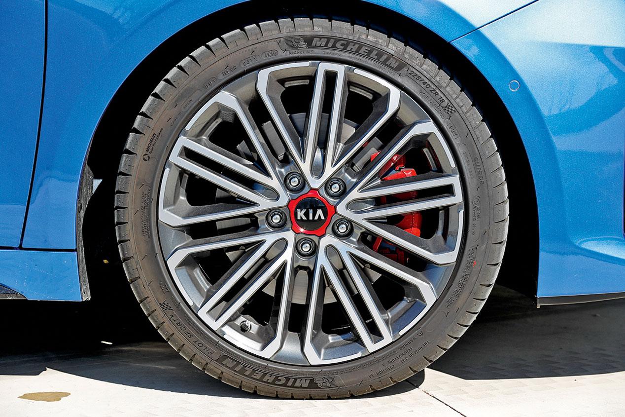 Kia ProCeed GT, las mejores imágenes de la prueba