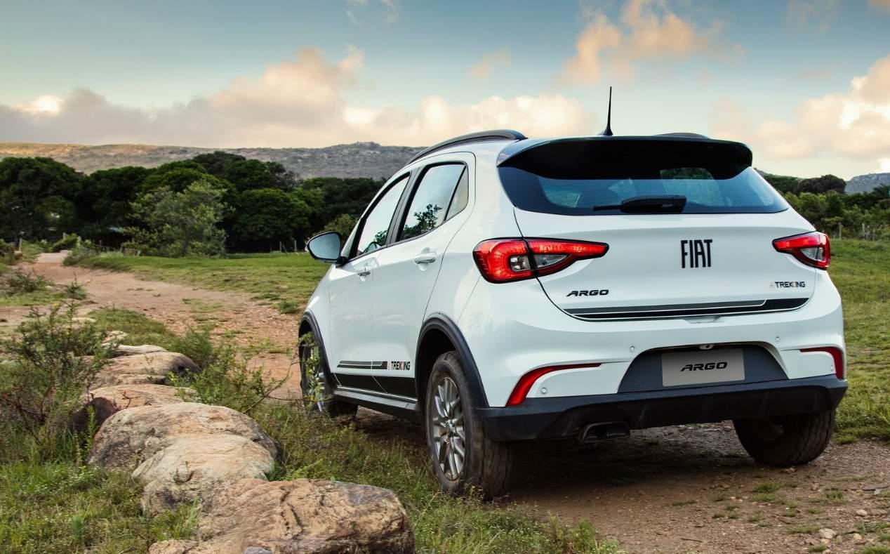 Fiat Argo Trekking: las mejores imágenes del nuevo SUV
