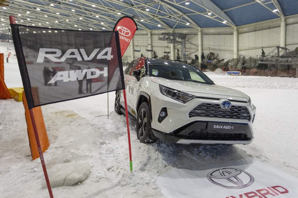 El Toyota RAV4 Hybrid AWD-i 2019, en fotos