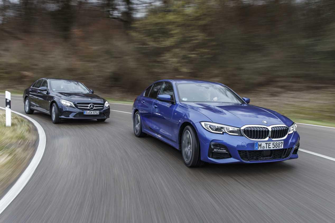 Comparativa: BMW 320d vs Mercedes C 220 d: