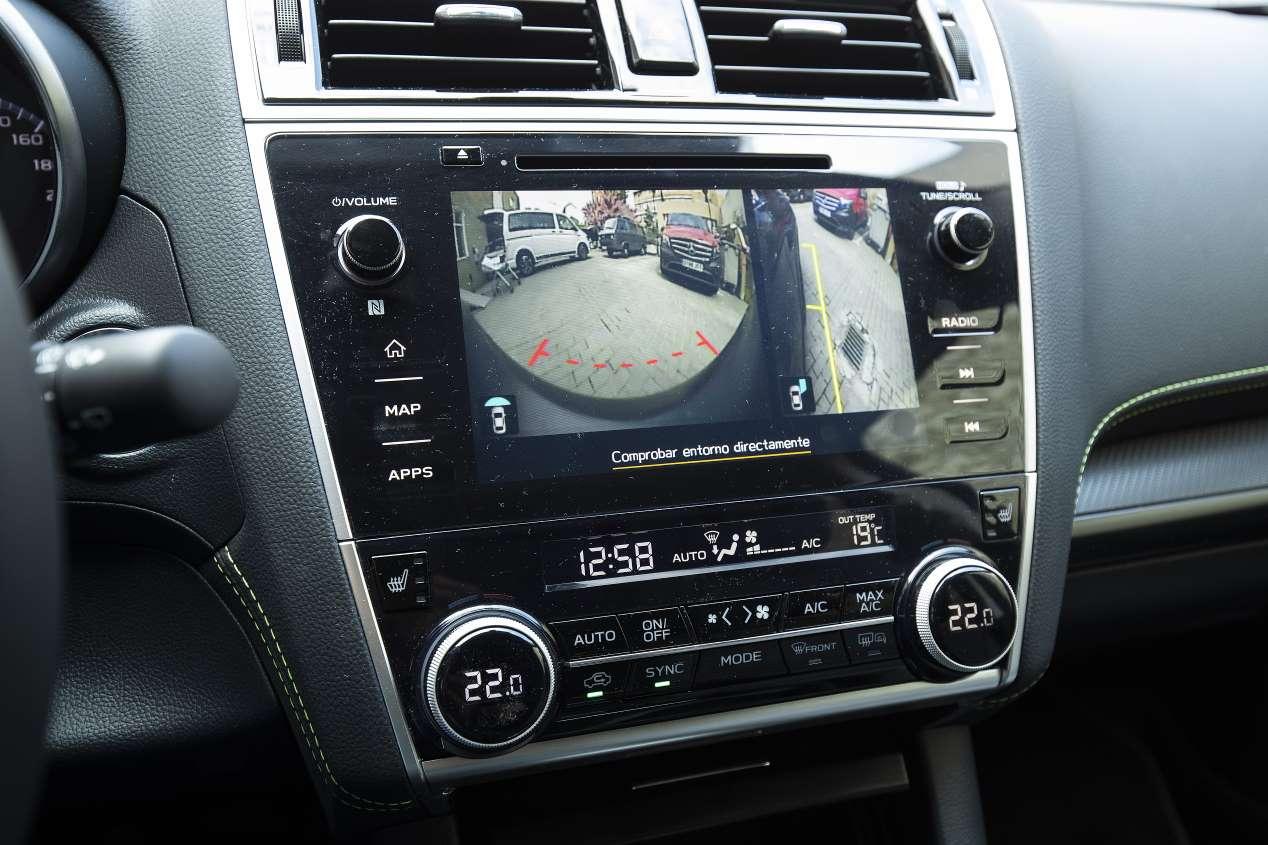 Subaru Outback 2.5i GLP: probamos el nuevo SUV de gas